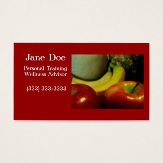 fruity2 business card