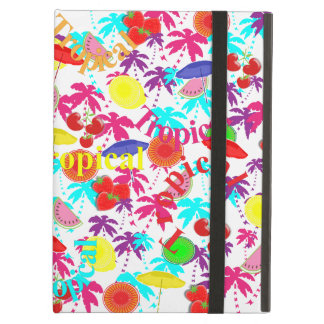 Fruity Caribbean Tropical Summer Sun Holiday iPad Air Cover