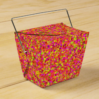 Fruity Glitter Dots-PARTY FAVOR BOX, take out Party Favour Box