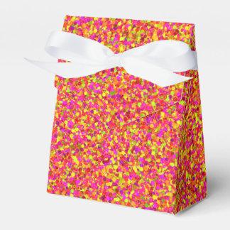 Fruity Glitter Dots-PARTY FAVOR BOX, tent Wedding Favour Box
