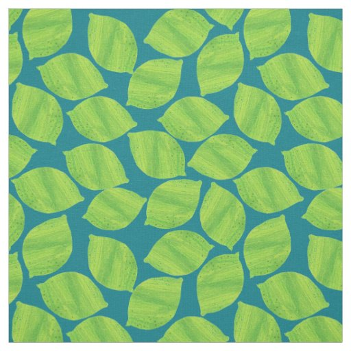 Fruity Green Limes on Deep Blue to Customise