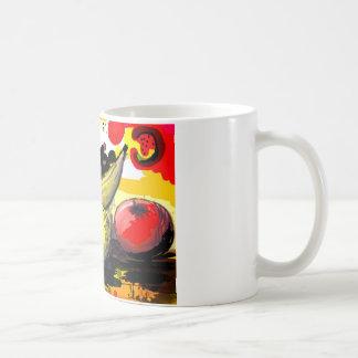 fruity life basic white mug