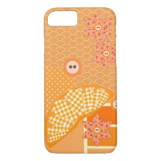 Fruity Orange Modern Patchwork Decorative iPhone 8/7 Case