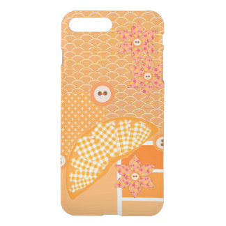 Fruity Orange Patchwork Decorative Scrapbook iPhone 8 Plus/7 Plus Case