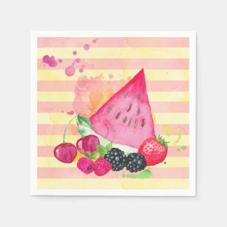 Fruity Paper Napkins
