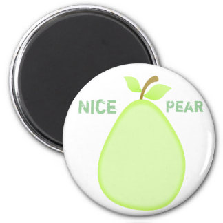 Fruity pear magnet