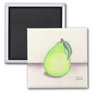 FRUITY PEAR magnet (square)