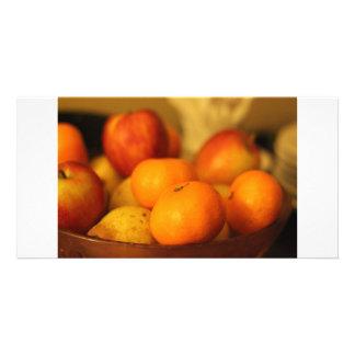 Fruity Custom Photo Card