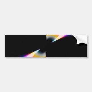 Fruity Rainbow Twirl Bumper Sticker