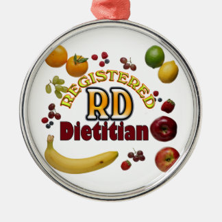 FRUITY RD REGISTERED DIETITIAN CHRISTMAS ORNAMENT