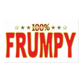 Frumpy Star Tag Business Card
