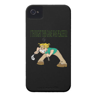 Frustrated Golfer iPhone 4 Covers