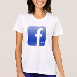 Frustrated Wife Facebook Logo Hilarious T-Shirt