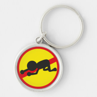 Frustration ban - Yellow background Keychain