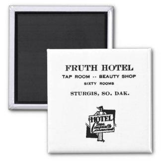 Fruth Hotel, Sturgis, S.D., Magnet