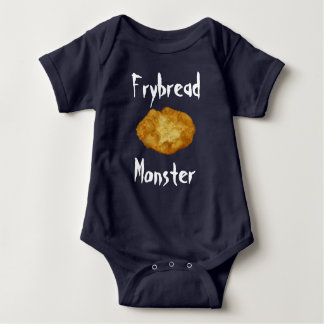Fry Bread Monster Baby Bodysuit