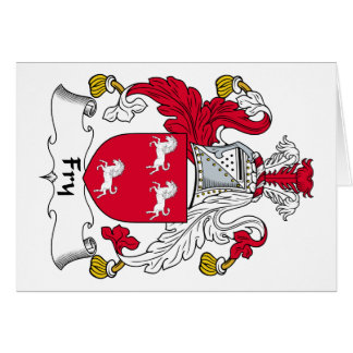 Fry Family Crest Greeting Cards