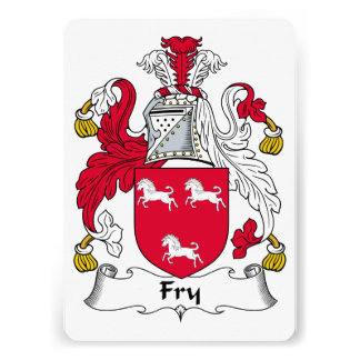 Fry Family Crest Announcements