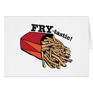 Fry-tastic Card