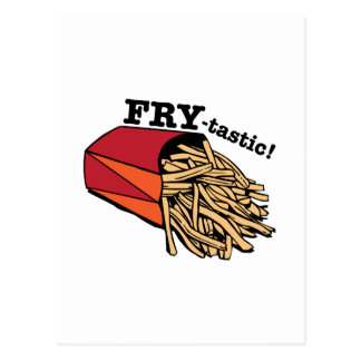 Fry-tastic Postcard