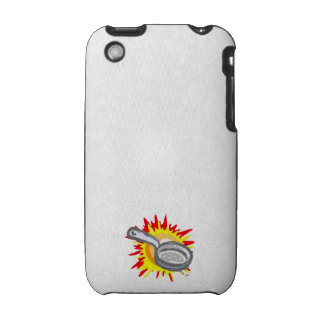 Frying Pan Gurl Frying Pan iPhone 3 Cases