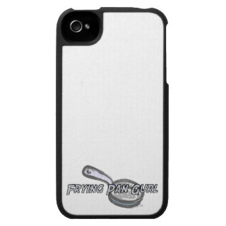 Frying Pan Gurl Logo Case For The iPhone 4