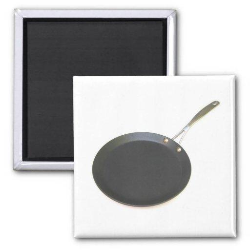 Frying Pan Fridge Magnets