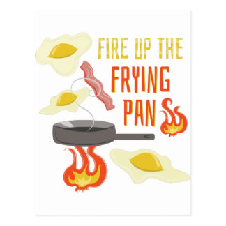 Frying Pan Postcard