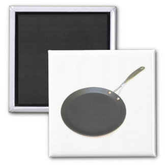 Frying Pan Square Magnet