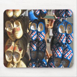 Fryslan Wooden Shoes Clogs Mousepad