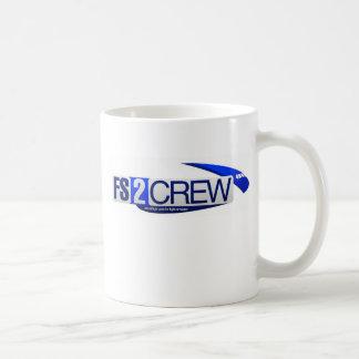 FS2Crew White Mug