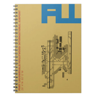 Ft. Lauderdale Airport (FLL) Diagram Notebook