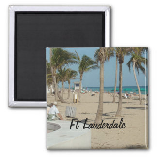Ft Lauderdale Beach Magnet