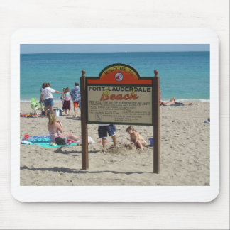 Ft Lauderdale Beach Mouse Pad