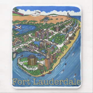 Ft Lauderdale Mouse Mat