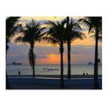 Ft. Lauderdale Sunrise Post Card