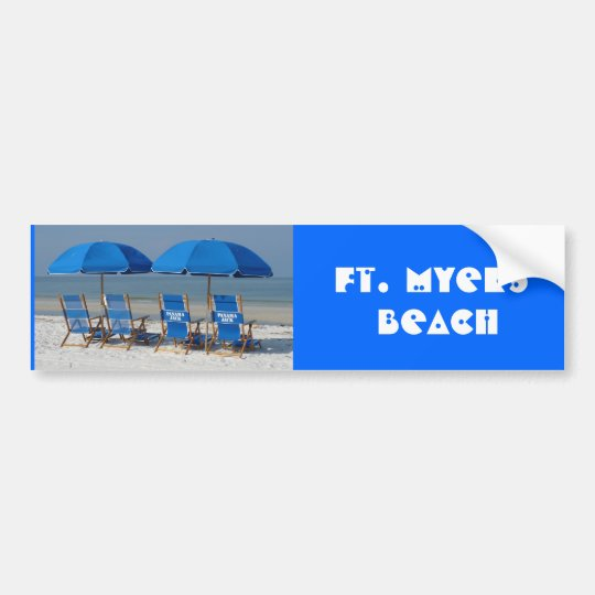 Ft. Myers Beach Bumper Sticker