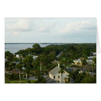 Ft.Myers From Above Note Card