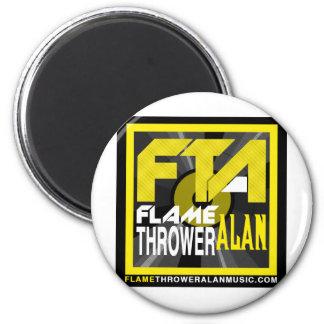 FTA Flame Thrower Alan Music Apparel & Merchandise Fridge Magnet