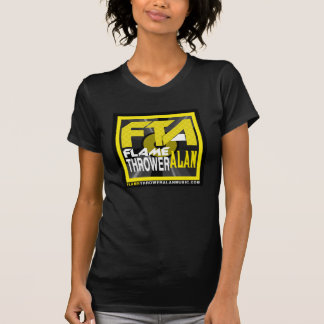 FTA Flame Thrower Alan Music Apparel & Merchandise Tee Shirts