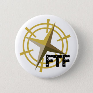 FTF with compass 6 Cm Round Badge