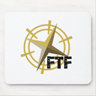 FTF with compass Mouse Mat