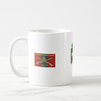 Fth Infantry Regiment The Army Ground Forces Band. Basic White Mug