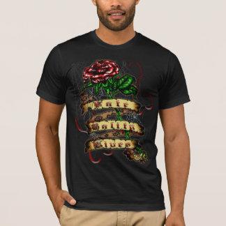 FTL - Tattoo Rose Men's Basic American Apparel T-S T-Shirt