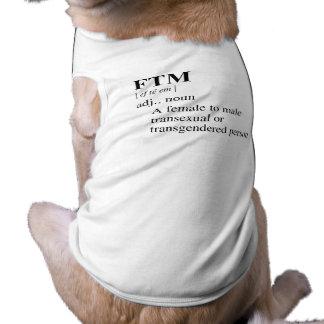 FTM SLEEVELESS DOG SHIRT