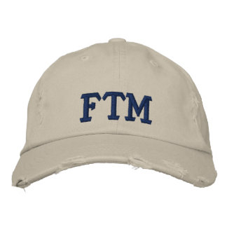 FTM EMBROIDERED HATS