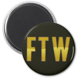 FTW 6 CM ROUND MAGNET