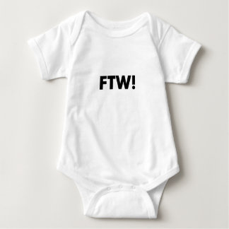 FTW! For The Win! Baby Bodysuit