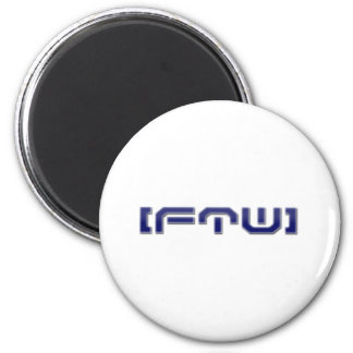 [FTW] Simple Logo Refrigerator Magnet