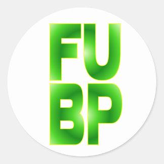FU BP STICKERS
